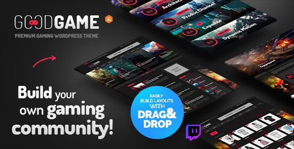 GoodGame - Twitch Integrated WordPress Gaming News Magazine
