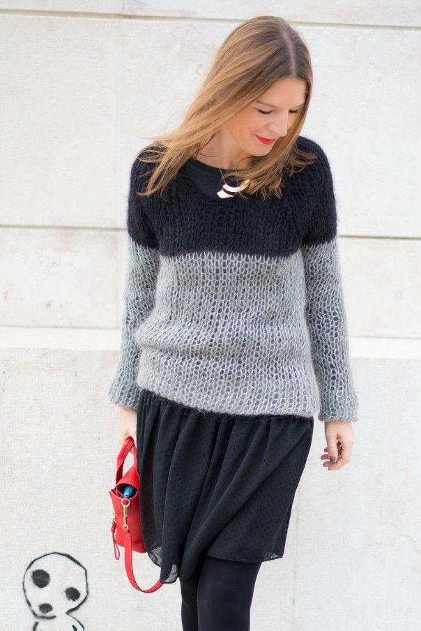 Inspiration pull tricot mohair, en Ombelle de Fonty ? | sweaters ...