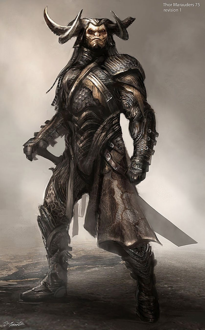 Thor: The Dark World Costume Concept Illustrations by ...