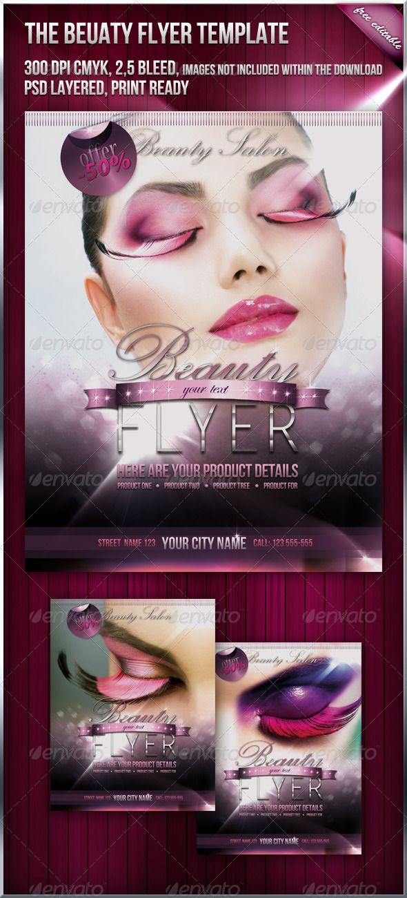 boutique flyer template free