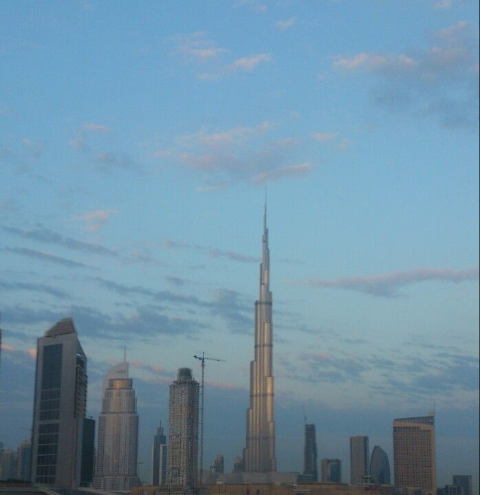 Tallest building in the world the burj khalifa