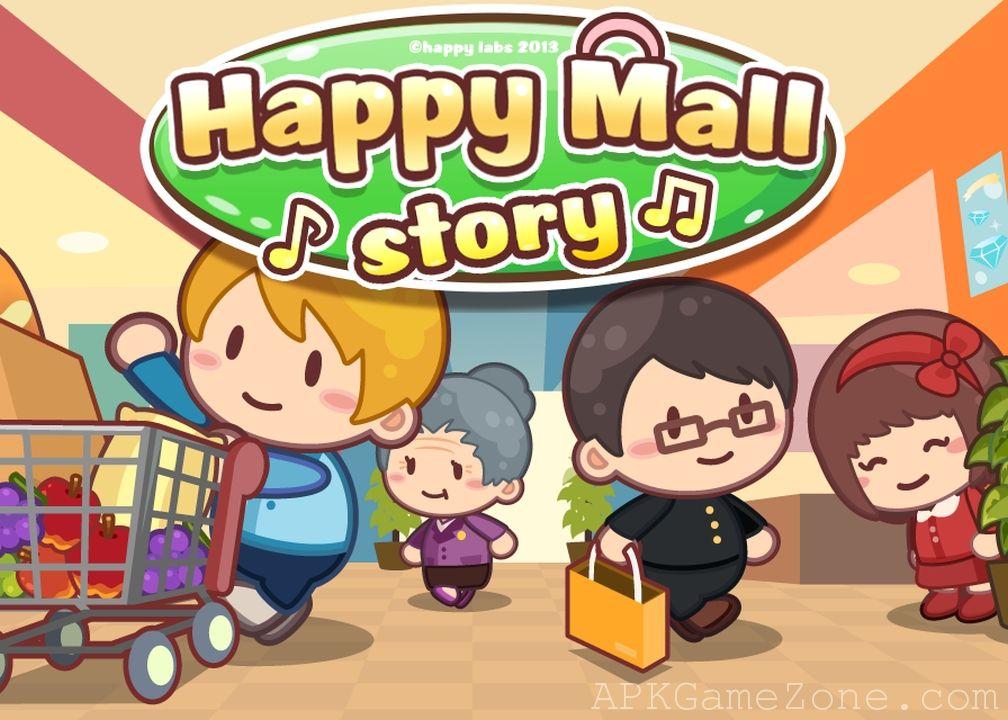 Happy Mall Story Sim Game Money Mod Download APK
