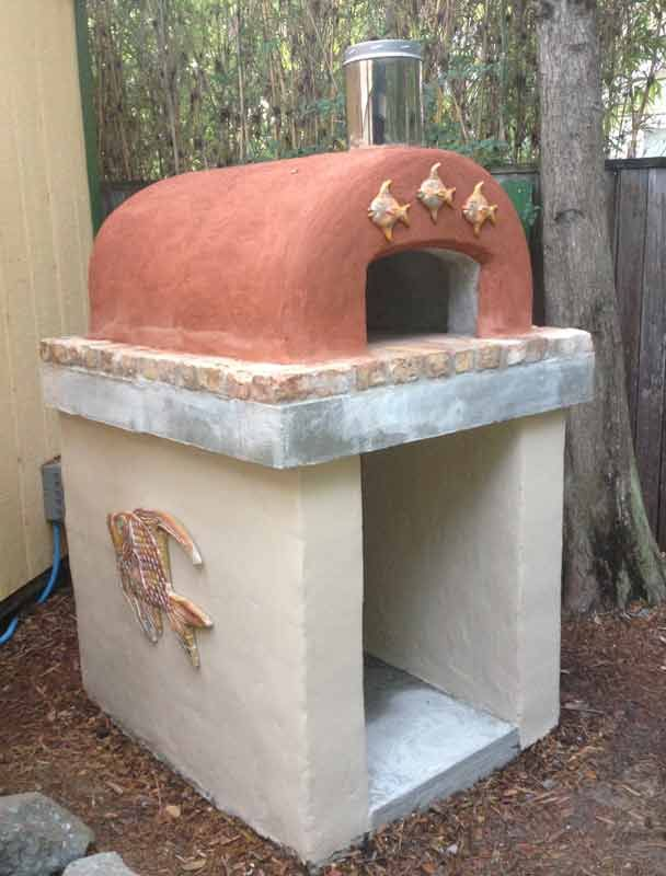 BrickWood Ovens - Eichler Family Wood Fired Brick Pizza Oven