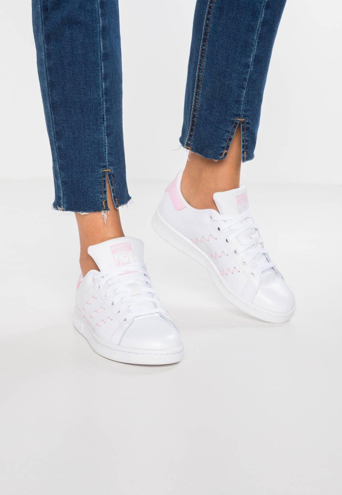 deddd97e9fa adidas Originals. STAN SMITH - Sneakers laag - footwear white/wonder pink.  voering