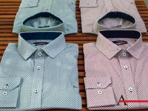 Estampas estão em alta na camisaria masculina. Se você ainda está se acostumando com a nova tendência, estampas menores são as escolhas ideais. #aramismenswear #estiloaramis