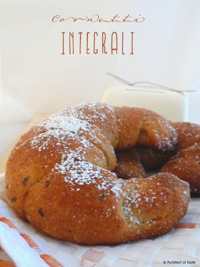 Architect of taste: Cornetti integrali