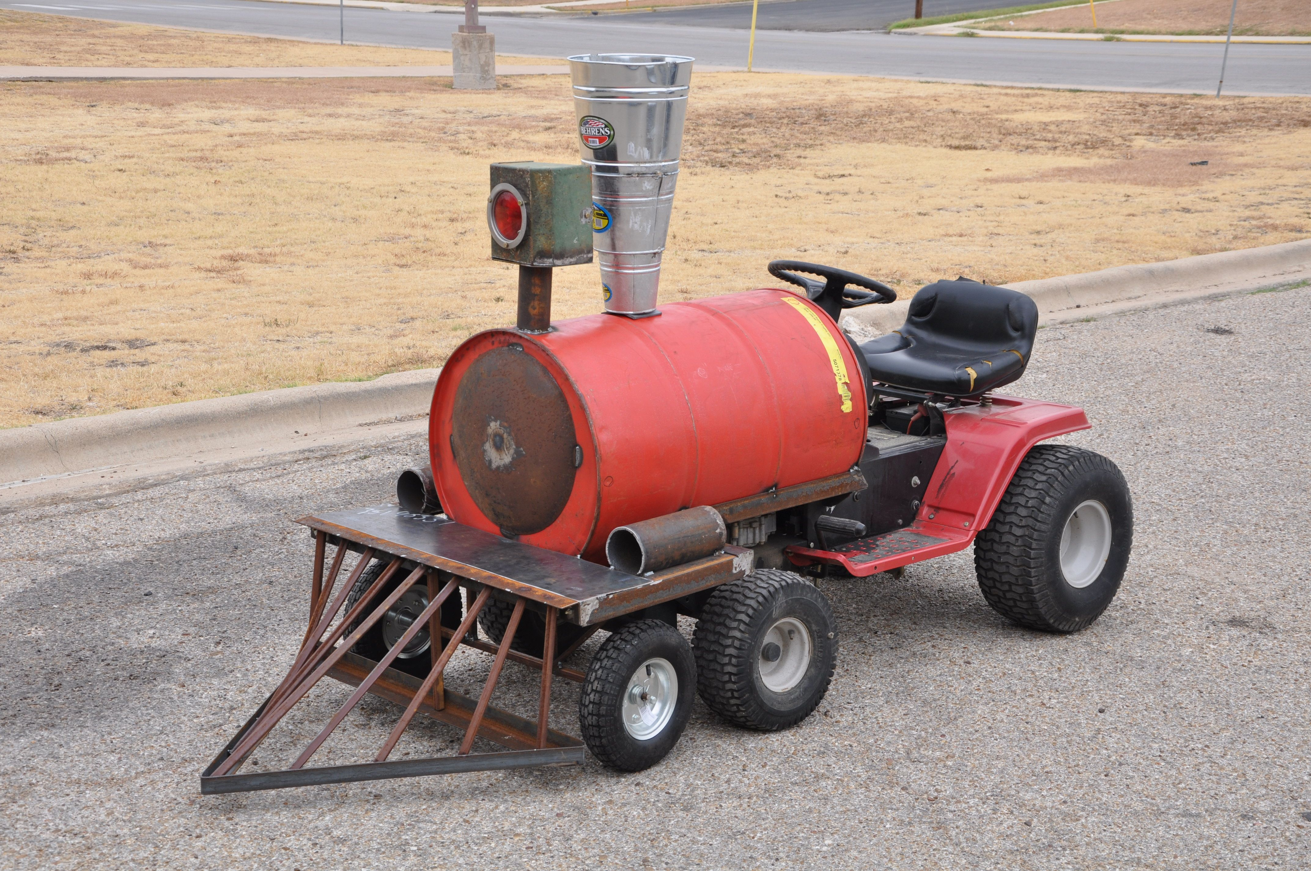 Lawnmower Trackless Train Stuff Already Been Built In 2018 Diy Electric Tractor Page 3 Of 4 Barrel Homemade Party Kids Wagon