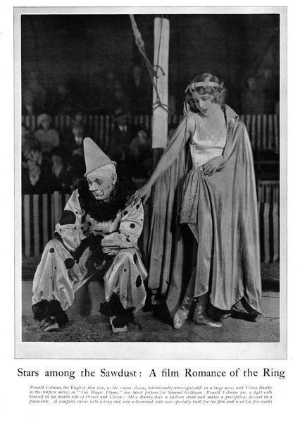 Photograph-Ronald Coleman and Vilma Blanky in the MGM film Romance of a-10