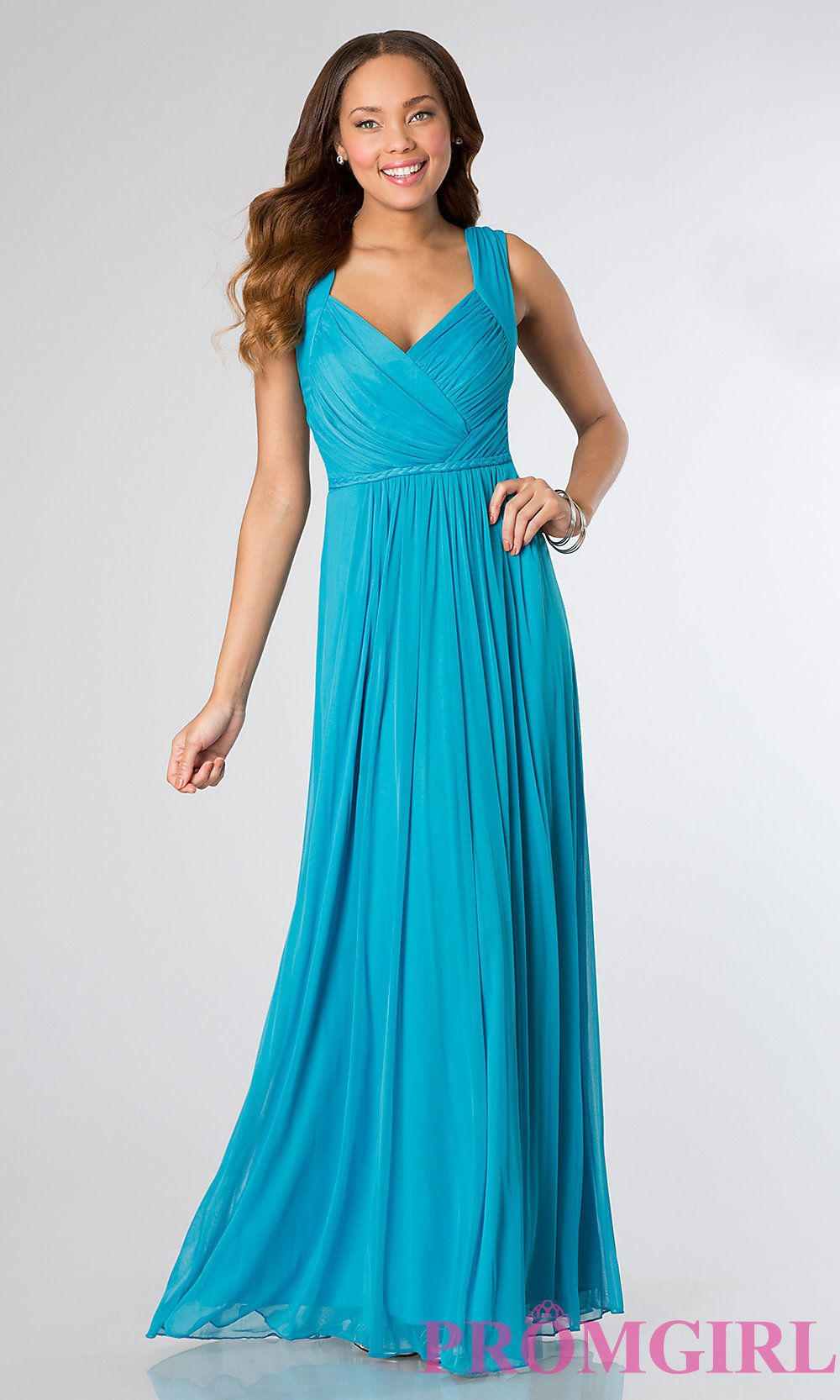 Long Prom Dress Front Image | Fashion | Pinterest | Long prom ...