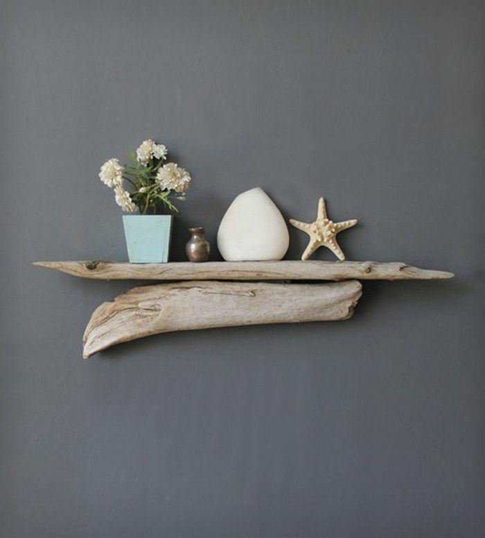 Basteln mit treibholz diy deko mit erinnerungen an den strandurlaub treibholz driftwood - Treibholz wanddeko ...
