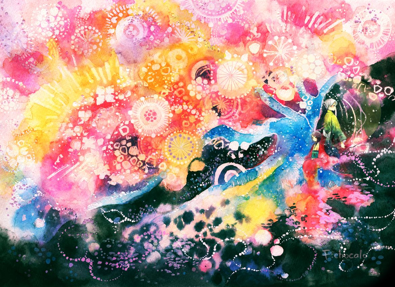 夜咲羅 by 池田 優   CREATORS BANK http://creatorsbank.com/ikedayu/works/297103
