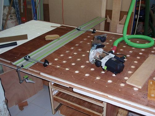 How To Make A Bench Dog Hole In Workbench On This Trip To