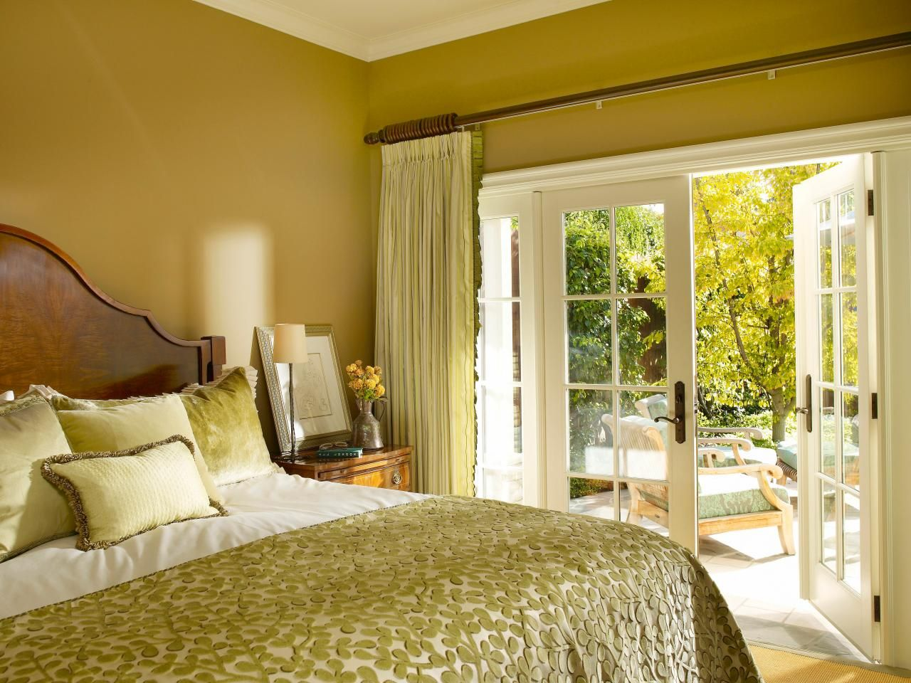 dreamy bedroom color palettes | green colour palette, traditional