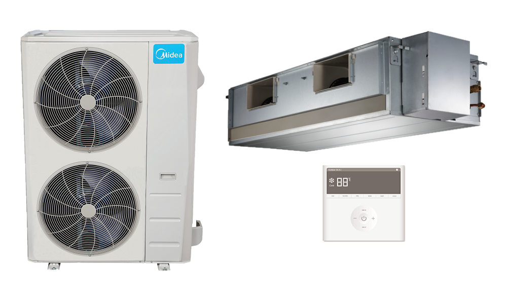 Mini Split Heat Pump AC Mid Static in Minisplitwarehouse