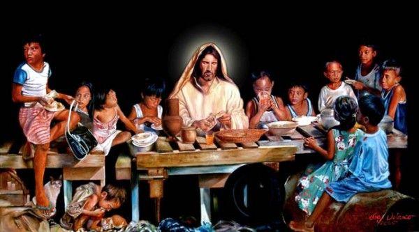 Last Supper With The Street Children (Update: Joey Velasco Taken Ill)    Last supper, Street kids, Jesus