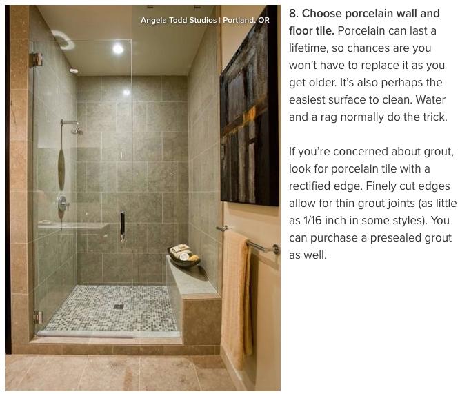 Age Proof Your Bathroom Houzz Bathroom Designs India Bathroom Design Concepts Closet Designs