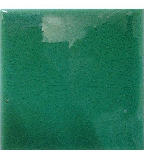 Piastrella da Rivestimento per Bagno Verde Smeraldo 10x10 Cerasarda ...