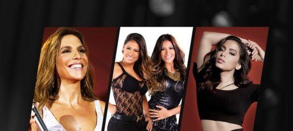 """Música Boa Ao Vivo"" - Anitta encerra temporada do programa ao lado de Ivete Sangalo e Simone e Simaria"