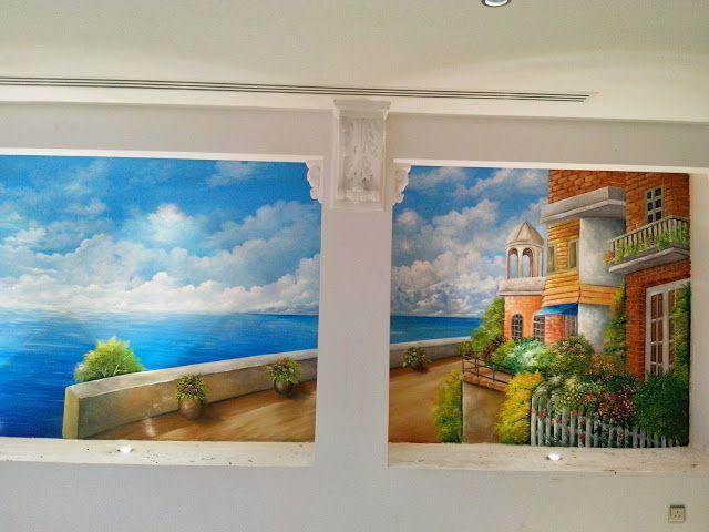 رسم ثلاثي الأبعاد على الجدران والأسقف والقبب وغرف الأطفال محمد حجازي 1 Blog Posts Blog