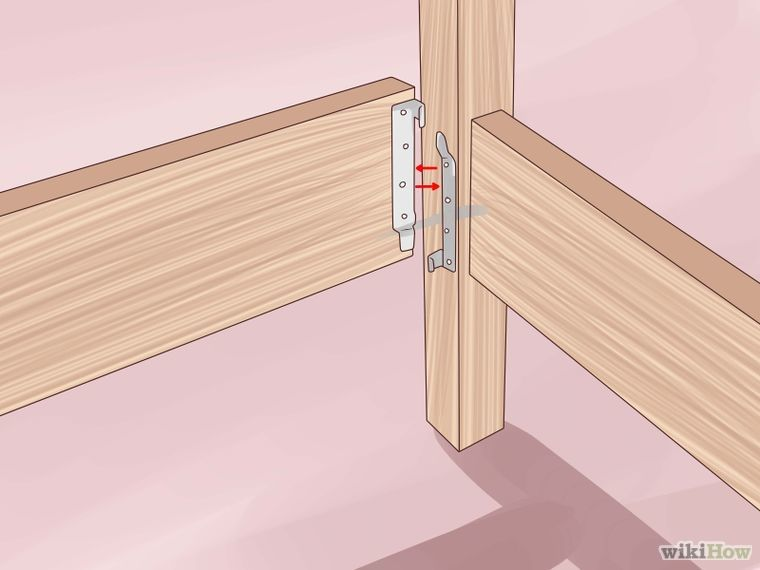Build A Wooden Bed Frame Wooden Bed Wooden Bed Frames Making A