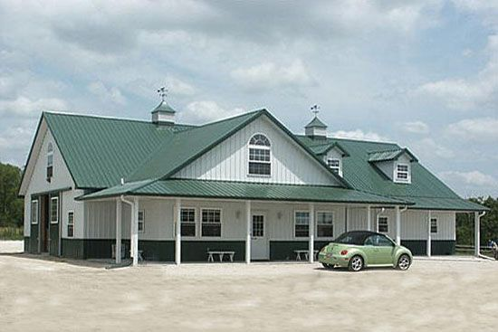 Luxury Horse Barn Building Designs
