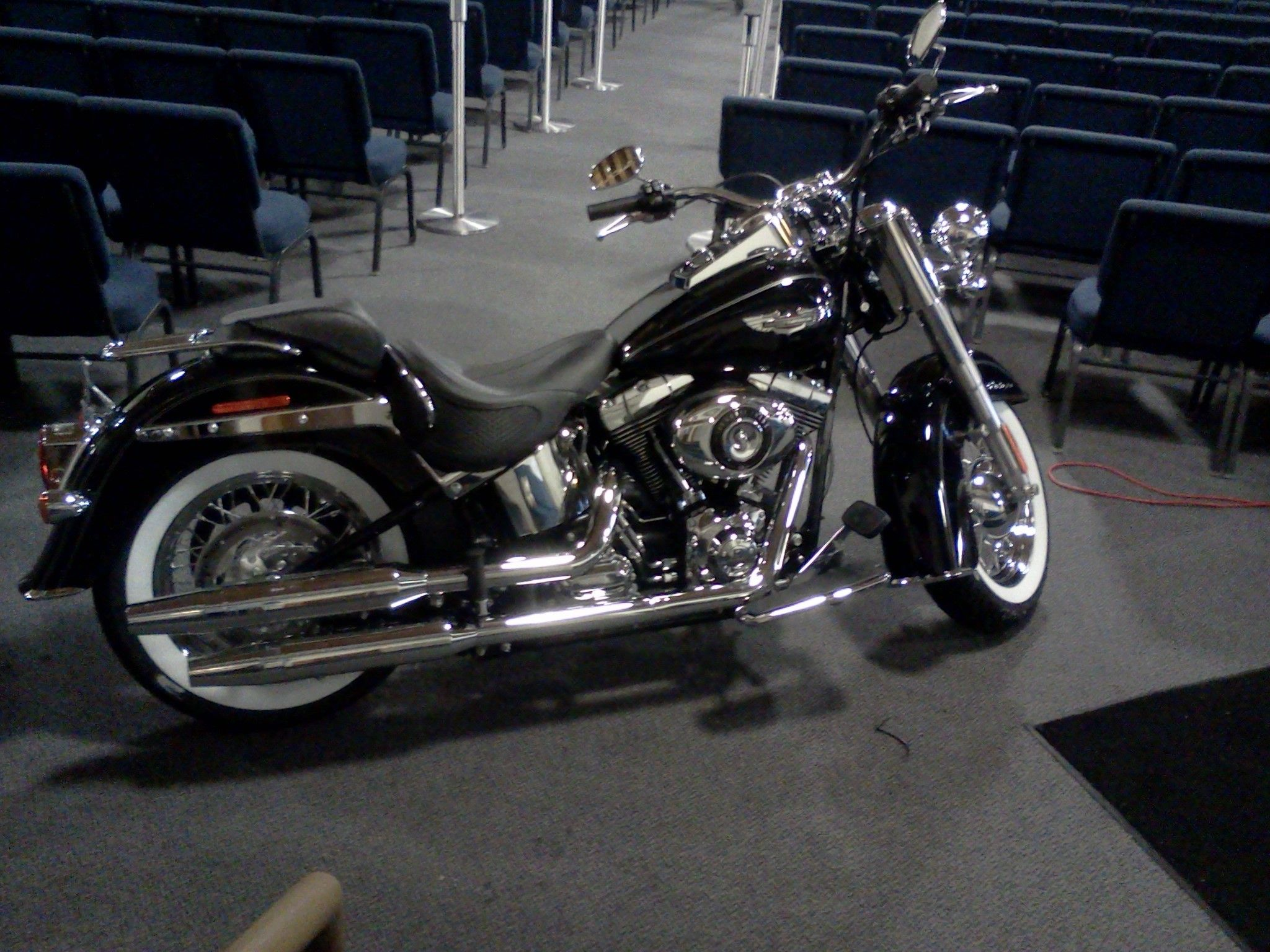 Harley Davidson Movie: Harley Davidson From Tyler Perry's Movie Good Deeds