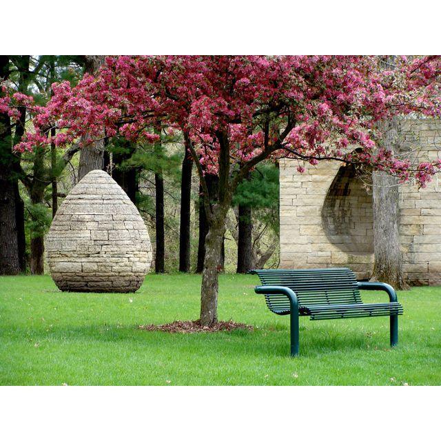 Des Moines Art Center Rose Garden