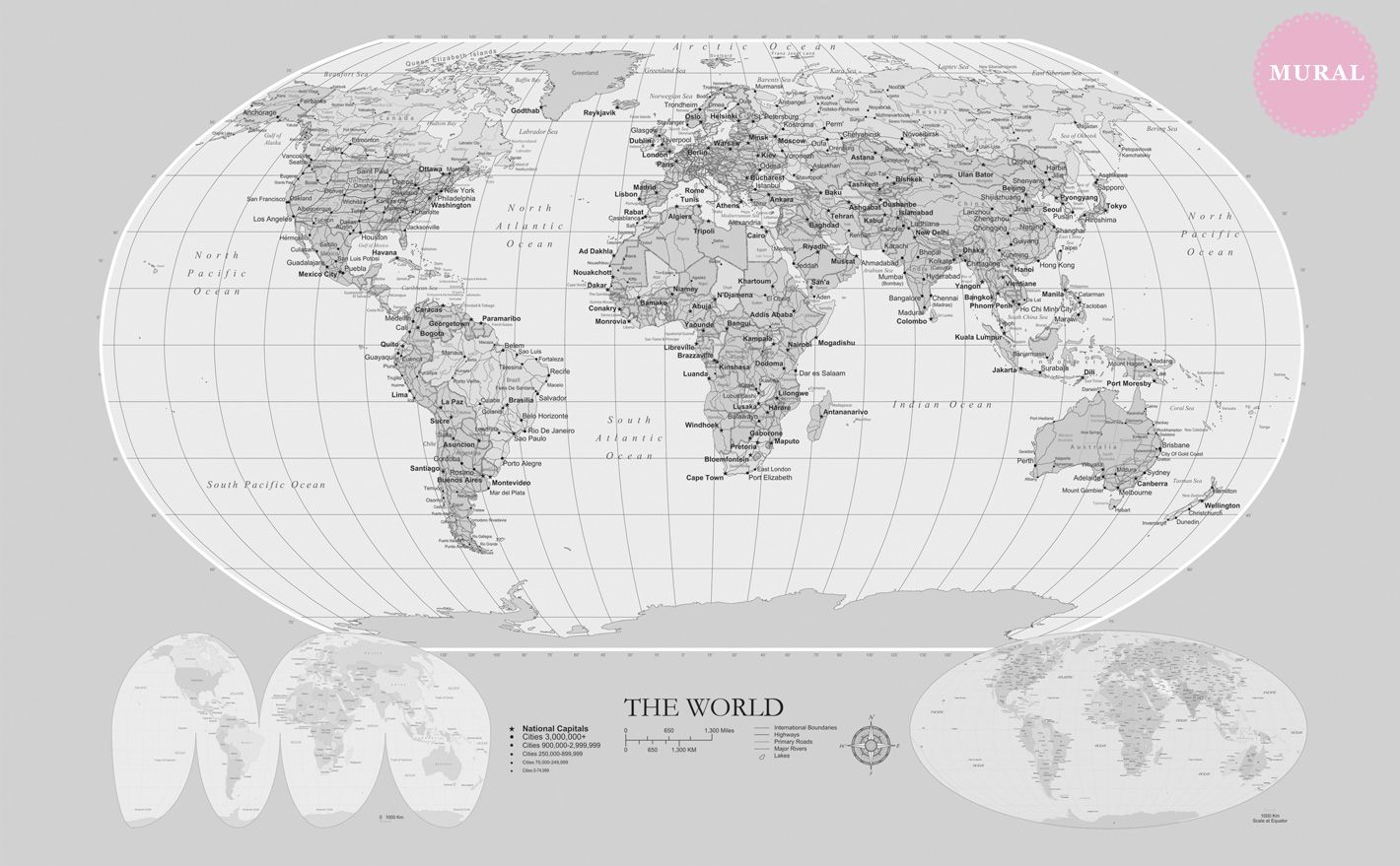 World map wallpaper 24m high x 37m wide no of panels 4 53280 world map wallpaper 24m high x 37m wide no of panels gumiabroncs Choice Image