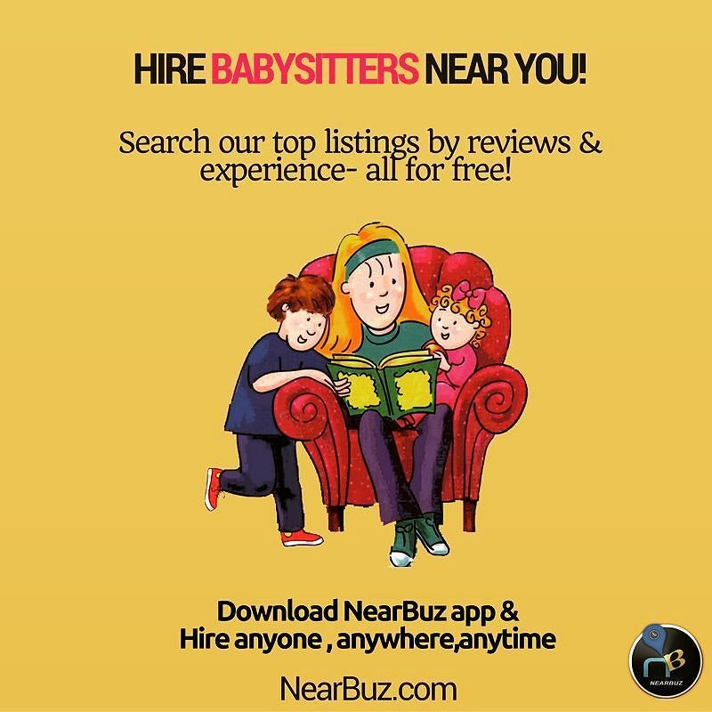 Find best babysitters near you! Search top listings by