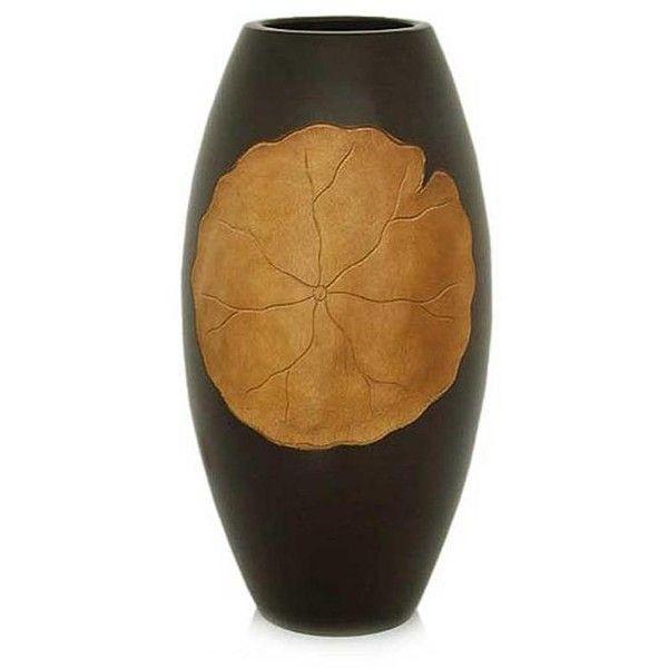 Novica Hand Crafted Mango Wood Vase 63 Liked On Polyvore
