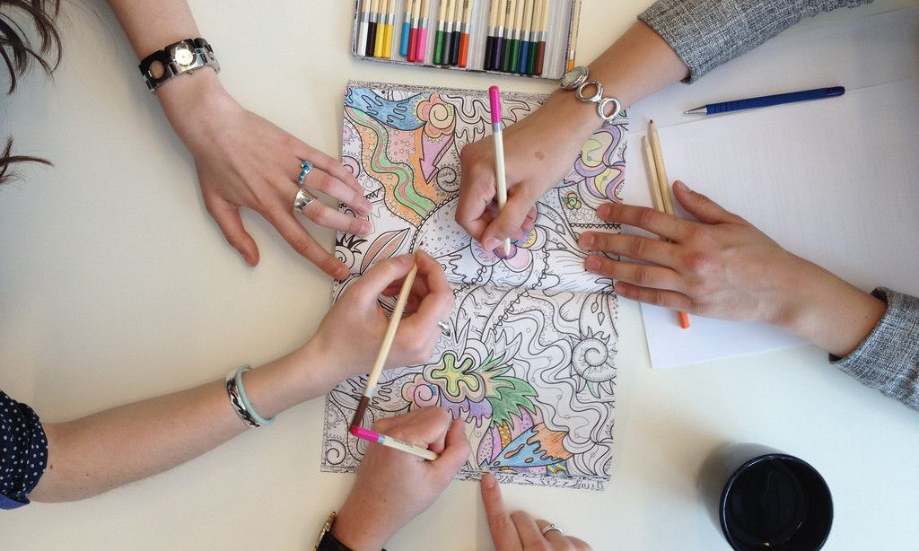 11 Of The Best Adult Coloring Books For Mindful Stress Relief