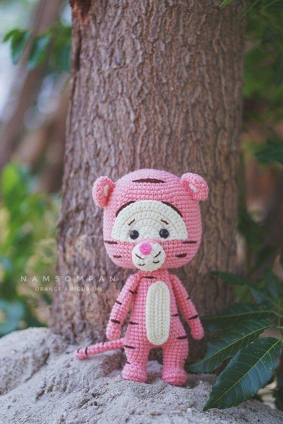 ♥ Day 16: Tigger Tsum Tsum Amigurumi - Delinlea - My little ... | 853x570
