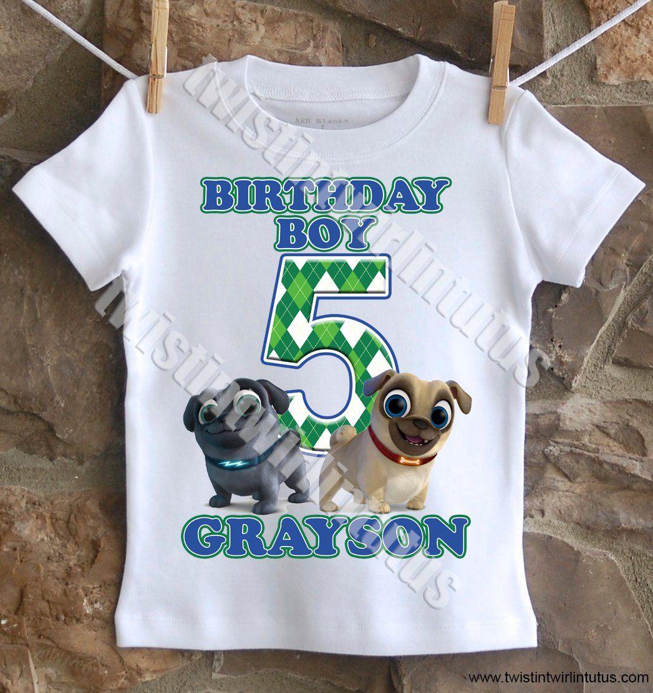 d0712043d639 Puppy Dog Pals Birthday Shirt | Puppy Dog Pals Birthday Ideas ...