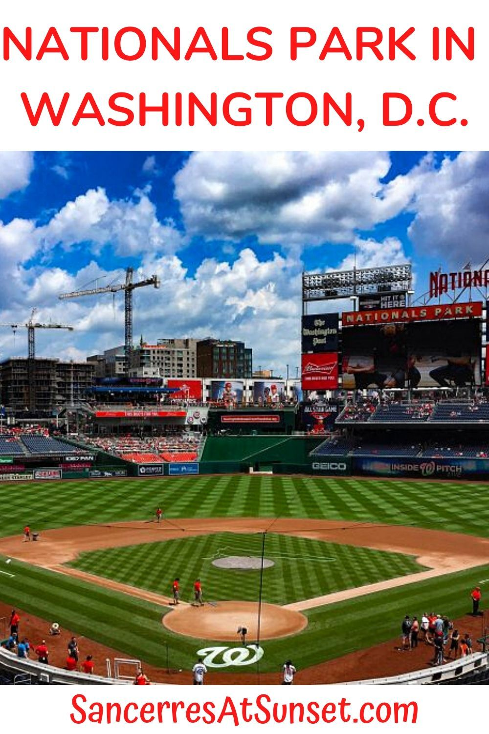 Nationalspark In Washingtondc Is A Modern Baseball Stadium That S Clean And Comfortable By Sports Venue Stan In 2020 Nationals Park Washington Travel Virginia Travel