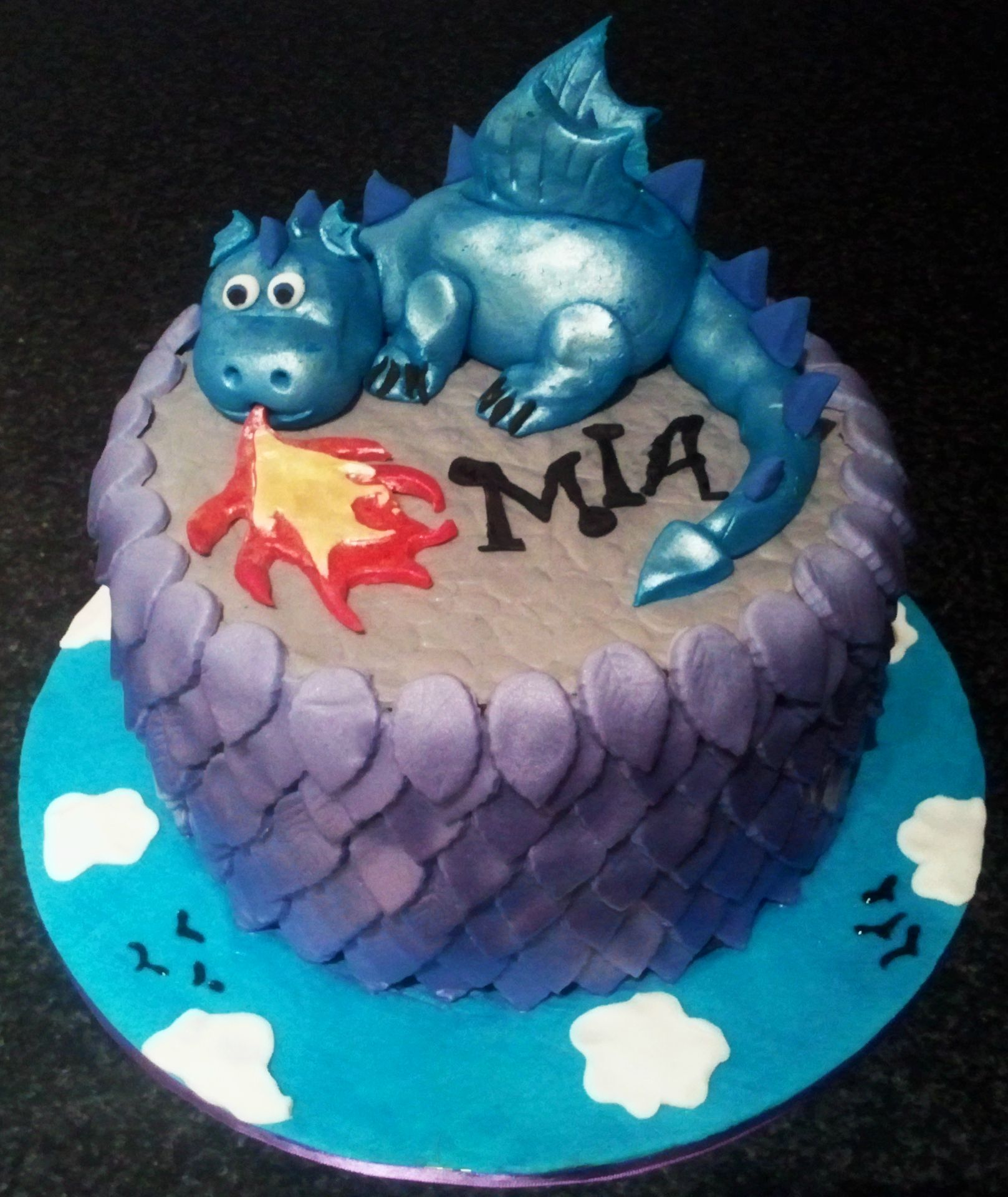 Dragon Cakes Decoration Ideas Little Birthday Cakes Cake