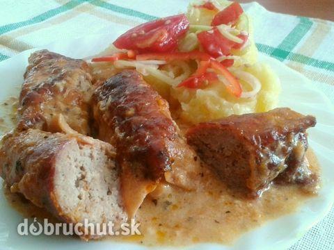 Zapečené šunkové rolky s mletým mäsom - Recept je vhodný na nedeľný obed, práve dnes sme si na ňom pochutili.
