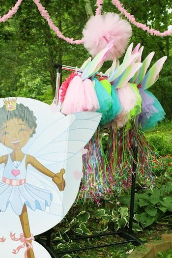 Hostess with the Mostess® - Fairy Ballerina Garden Party