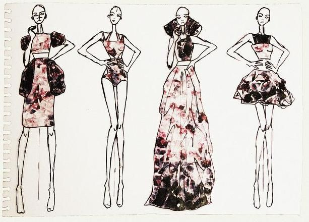 Model Drawing - Google Search | Thin | Pinterest | Fashion Silhouette Sketch Fashion And Drawings