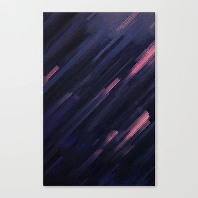 Glitched v.8 Canvas Print by Adam Flynn - $85.00