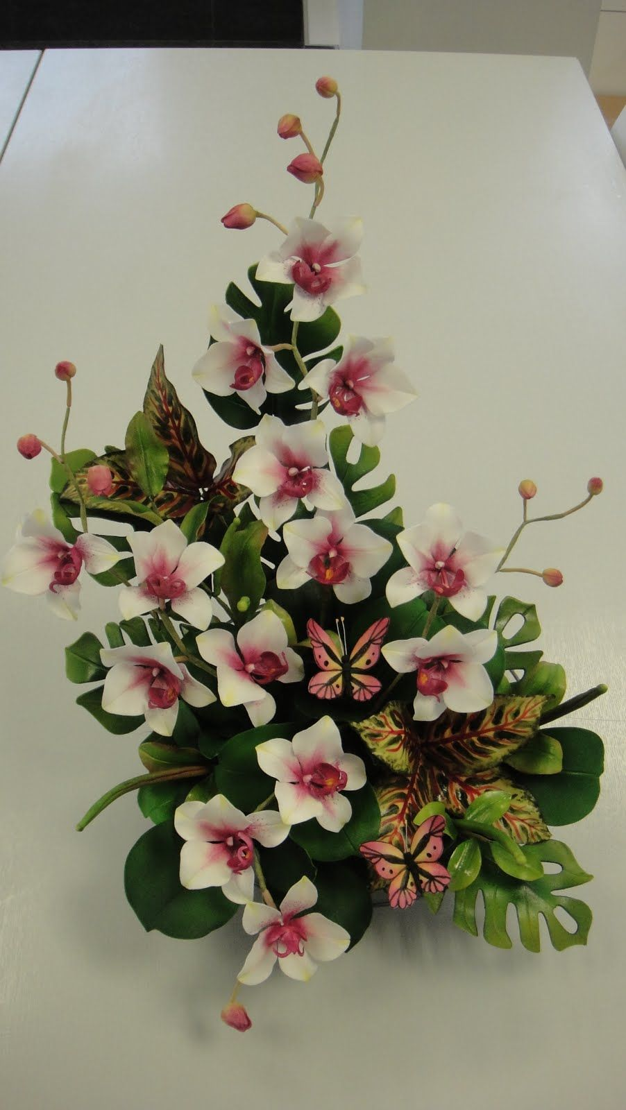 Images Of Floral Competitions Sugar Flower Arrangement In 25