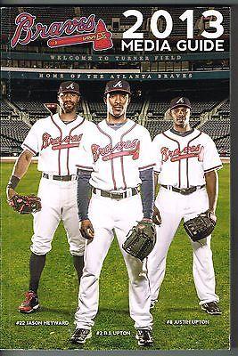 2013 atlanta braves mlb baseball media guide books pinterest rh pinterest com MLB Logo MLB Media Player Full Screen