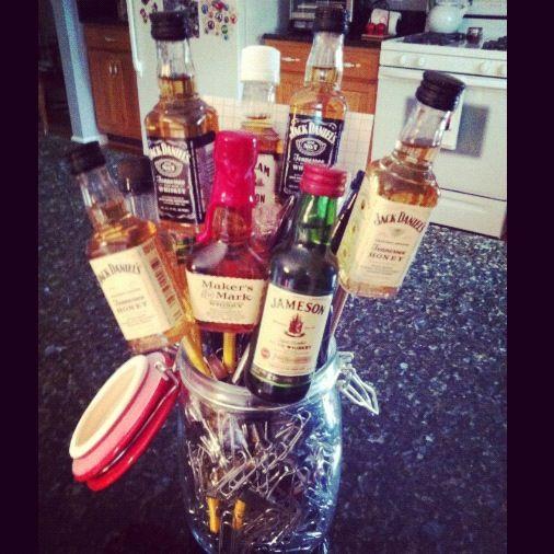 Boyfriends New Job Man Bouquet Man Bouquet Vodka