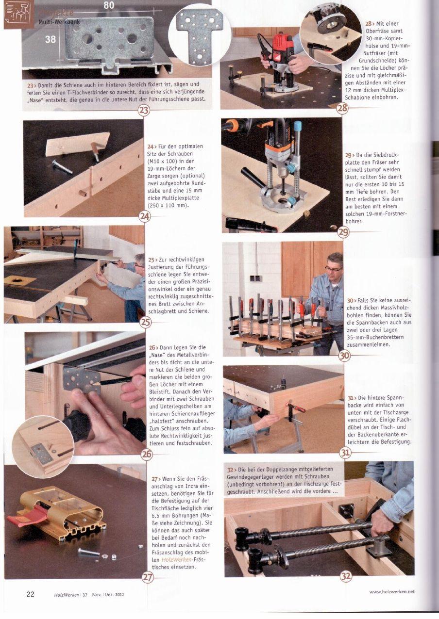 HolzWerken 37 | Etabli | Pinterest | Holzwerken, Arbeitsplätze und Holz