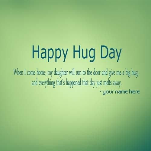 Best hug day wishes images with name print greetings image for best hug day wishes images with name print greetings image for happy hug day with m4hsunfo