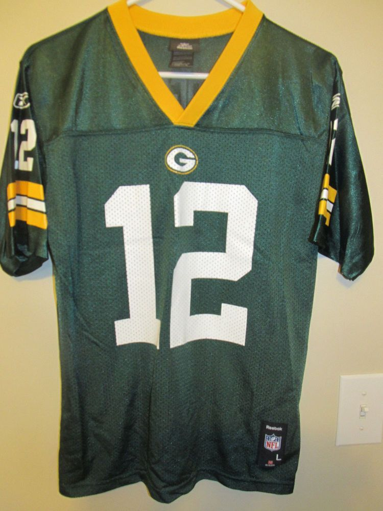84876747 Aaron Rodgers - Green Bay Packers Jersey - Reebok Youth large ...