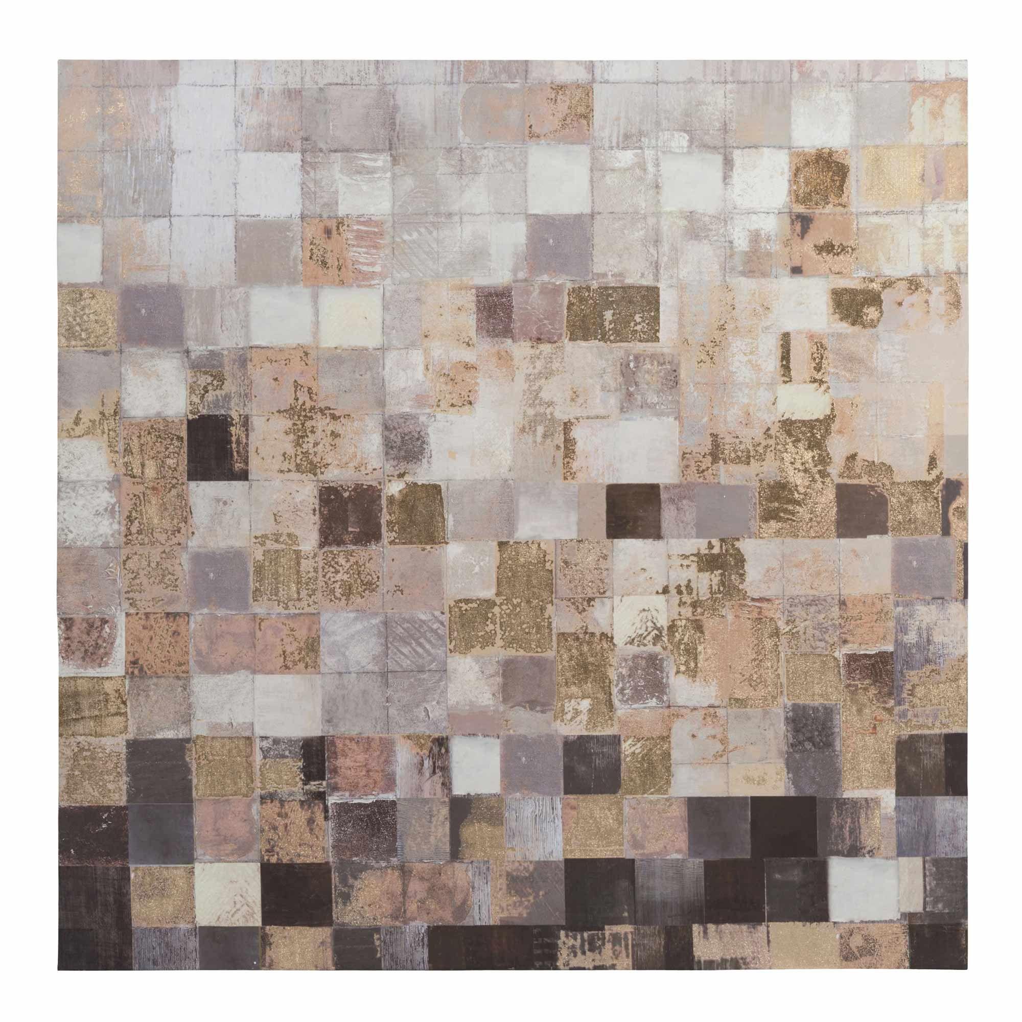 maison du monde toile 80 x 80 cm nomad squares 3999