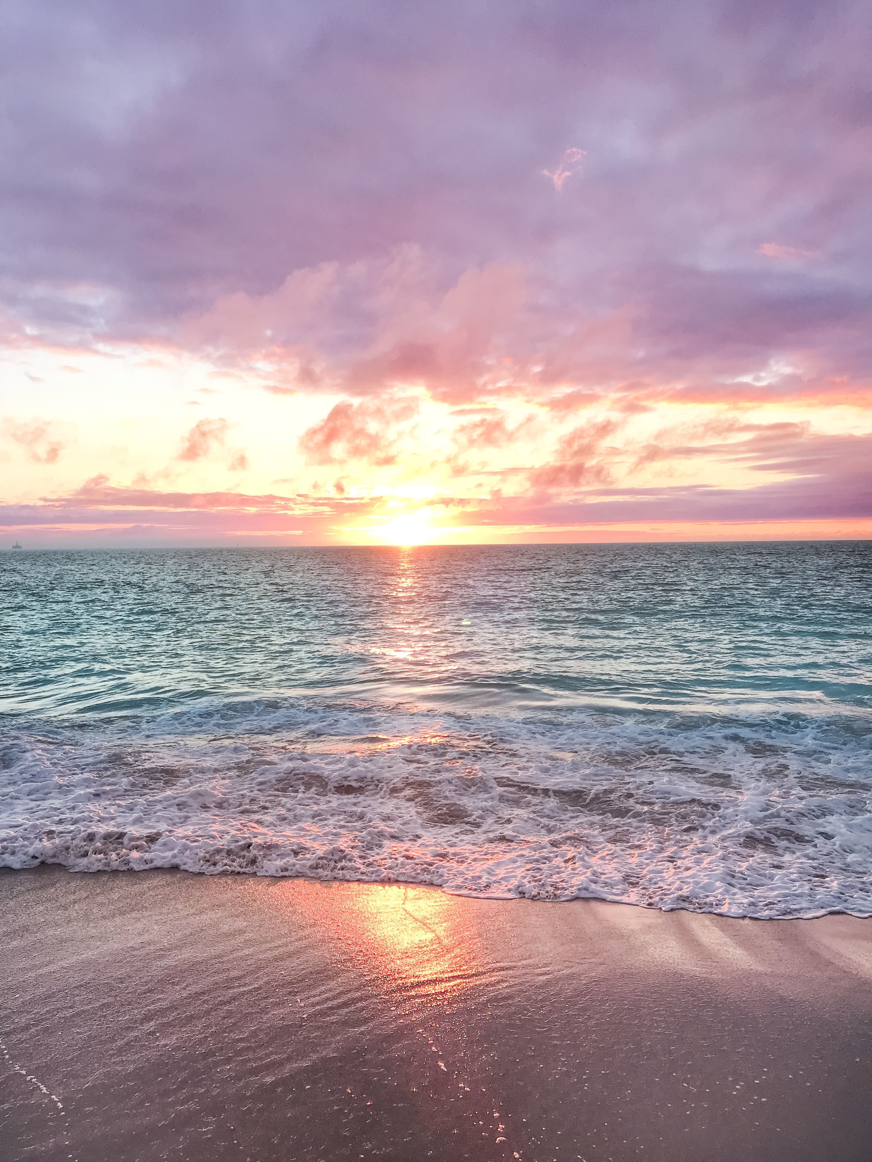 Sunsets Beach Wallpaper Beautiful Wallpapers Ocean Wallpaper