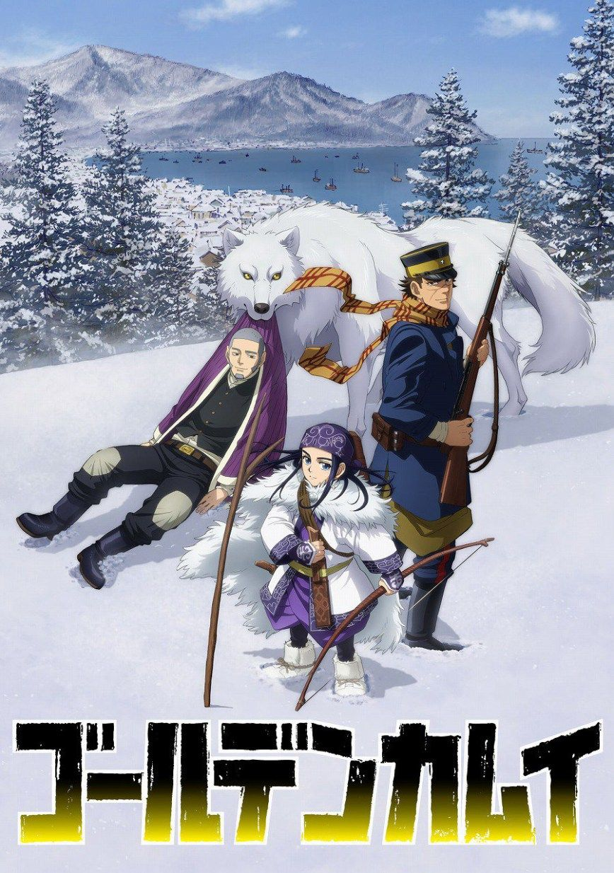 Golden Kamuy TV Anime Visual, Cast & Character Designs