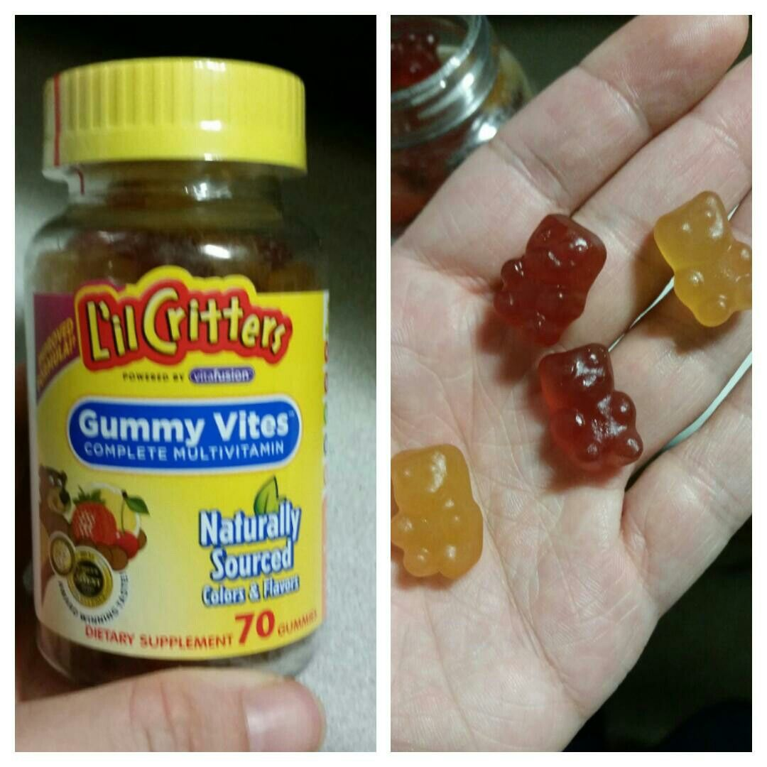 got this multi vitamin lilcritters as a freesample from