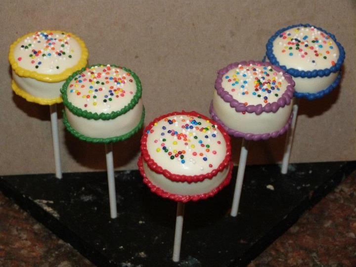 Jennifer Gallagher Birthday Cake Pops